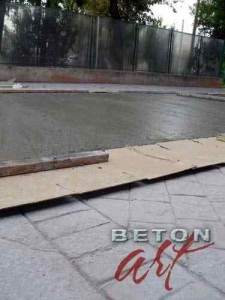 nivelare-beton-amprentat