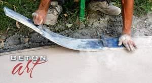 matrite folosite in betonul amprentat