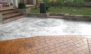 rozeta-beton-amprentat